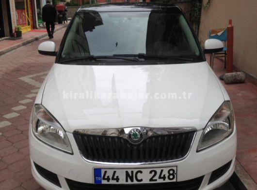 Kiralık Škoda Fabia günlük sadece 120TL