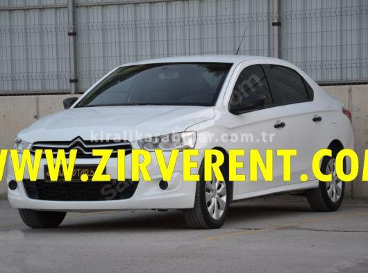 ZİRVE RENT A CAR kiralık citröen c eliz