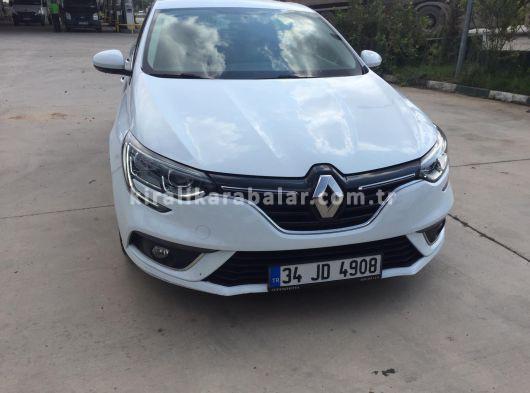 Kiralık 120 TL'ye Dizel Renault Megane Sedan Touch