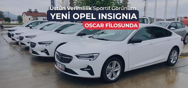 Sportif Görünümlü Yeni Opel Insignia Oscar'da