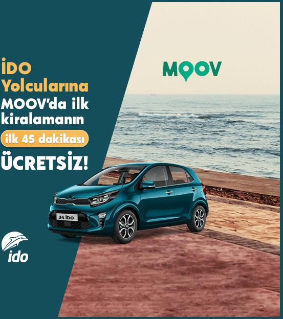 MOOV'da Ücretsiz Araç Kiralama Fırsatı Şimdi İDO'da