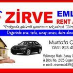 Zirve Emlak Rent A Car